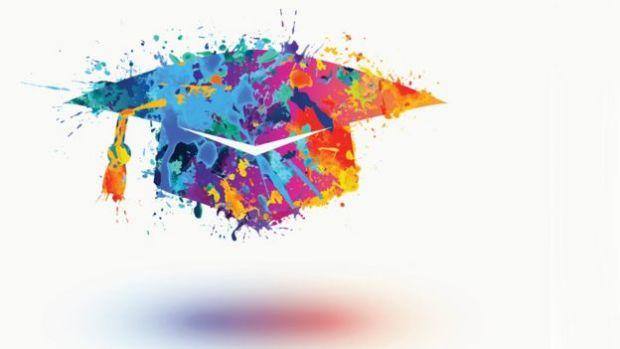 Sombrero de gradución.