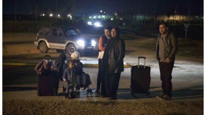 لاجئون في مدينة مليلية افسبانية