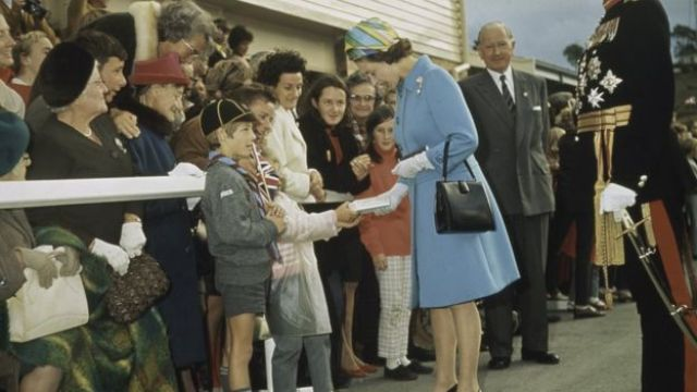 Queen in Tasmania to mark the 200th anniversary of Captain Cook's expedition