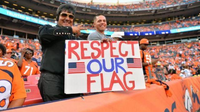 Partido de fútbol americano.