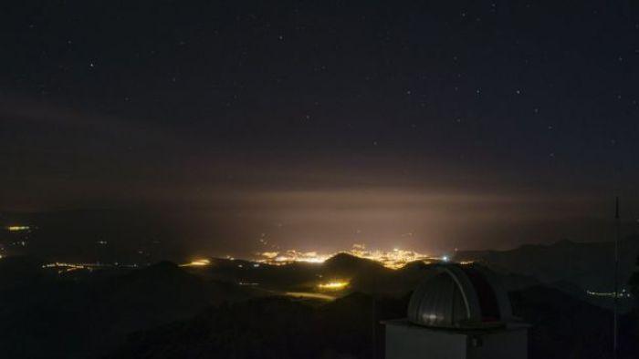 Vista do Laboratório Nacional de Astronomia (LNA), localizado em Itajubá, em Minas Gerais