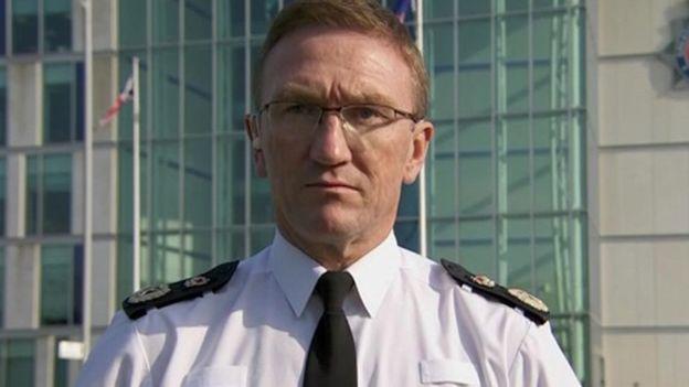 Chief Constable Ian Hopkins
