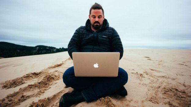 Grant Sabatier na praia