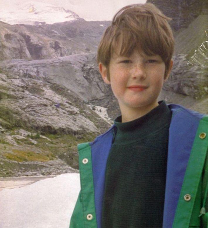 Nicholas Green in the Alps