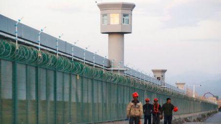 Centro de educação vocacional em Xinjiang, Setembro 2018