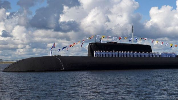 Submarino ruso.