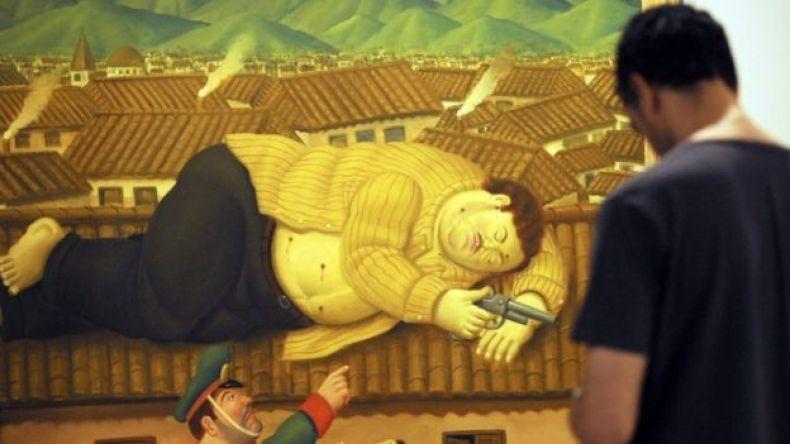 Pintura de Botero