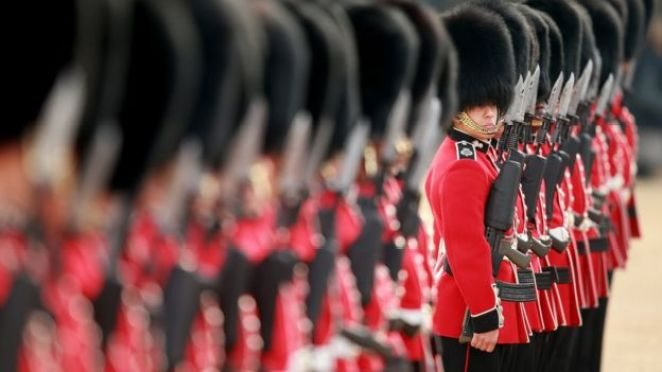 Troops of the Foot Guards
