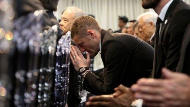 Jamie Vardy Vichai cremation