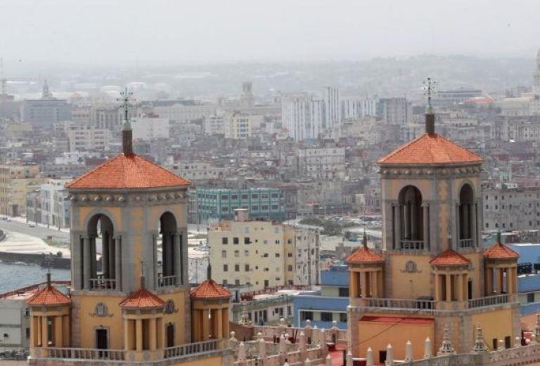 El polvo sahariano en La Habana