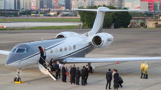 Keith Krach lands in Taipei