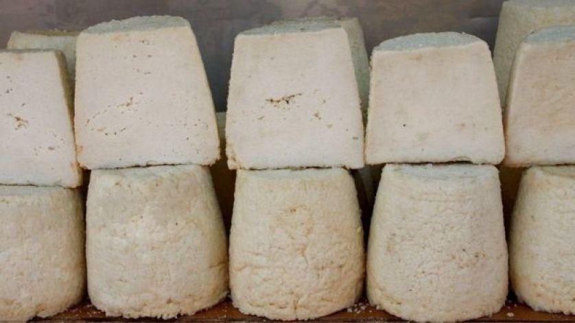 جبن منتج محليا في جزيرة كريت