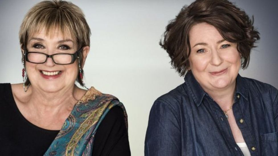 Woman's Hour presenters Jenni Murray (left) and Jane Garvey in 2016