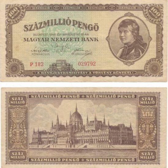 Billetes húngaro