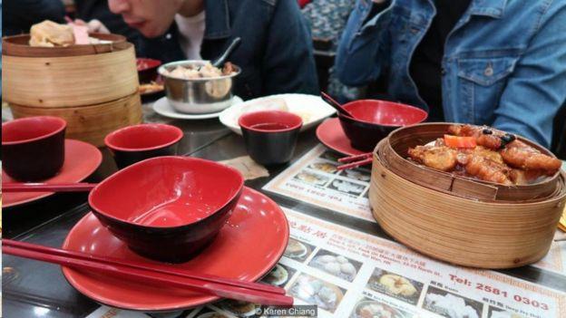 Yum cha Hong Kong
