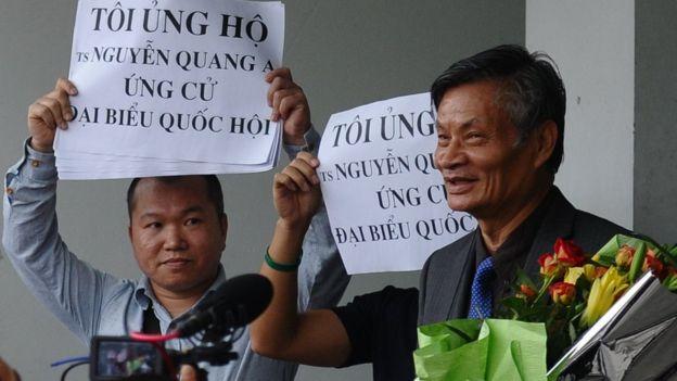 Activist Nguyen Quang A