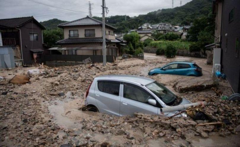 Inundação no Japão