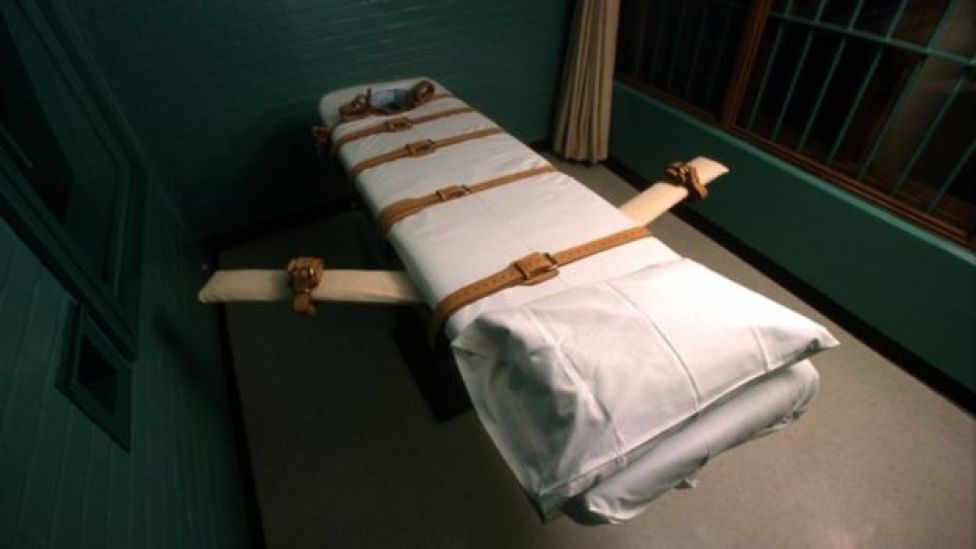 Death penalty chamber in Texas