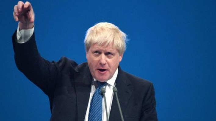 وزير الخارجية البريطاني بوريس جونسون