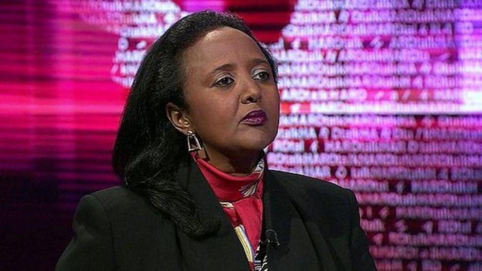 Waziri wa Elimu nchini Amina Mohammed