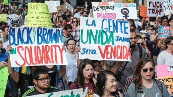 Protestas en Los Ángeles