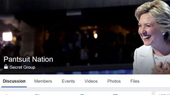 Image result for pantsuit nation former header facebook