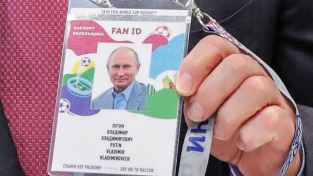 El Fan ID de Vladimir Putin