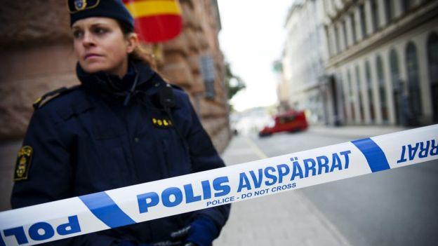 Policía sueca, 2011