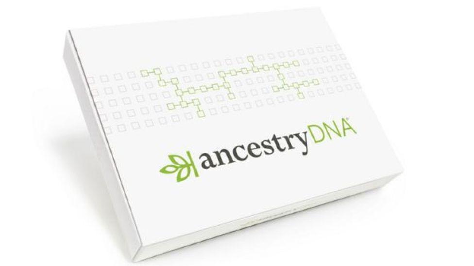 Caja de Ancestry DNA