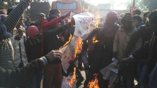 Angry crowds in Jharkhand