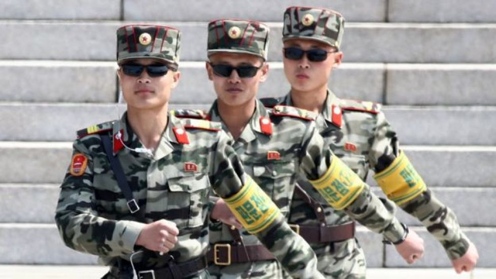 militares norcorea