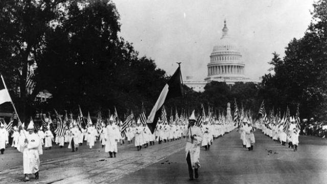 Passeata da KKK em Washington