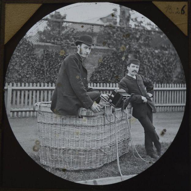 Cecil Shadbolt and 'Captain' William Dale