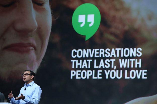 Vic Gundotra, el vicepresidente de ingeniería de Google, en una conferencia en San Francisco el 15 de mayo.