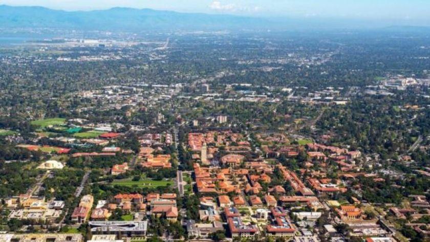 Silikon Vadisi'nde Stanford Üniversitesi