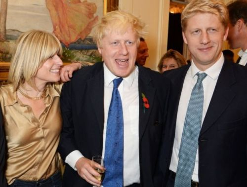 Rachel Johnson, Boris Johnson and Jo Johnson