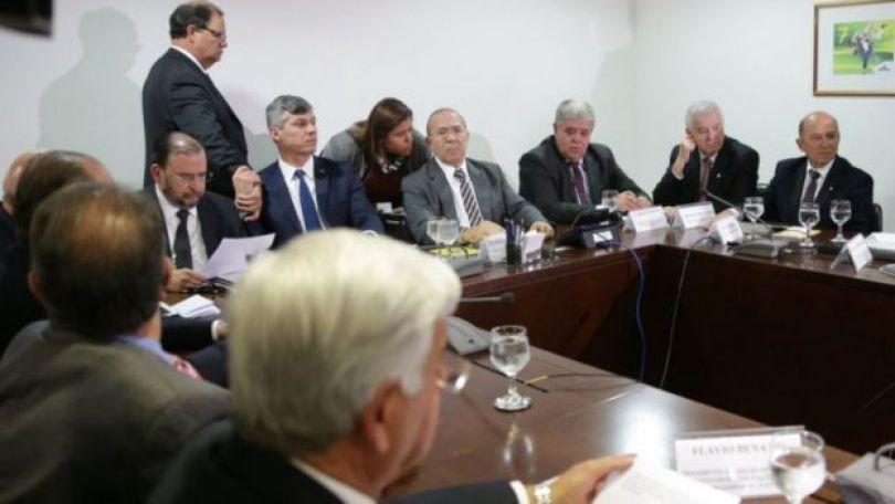 Reunião de representantes dos caminhoneiros com Eliseu Padilha e Carlos Marun