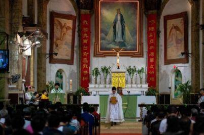 Iglesia en Pekín.