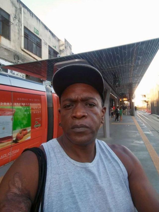 Roberto Santos, no Rio de Janeiro