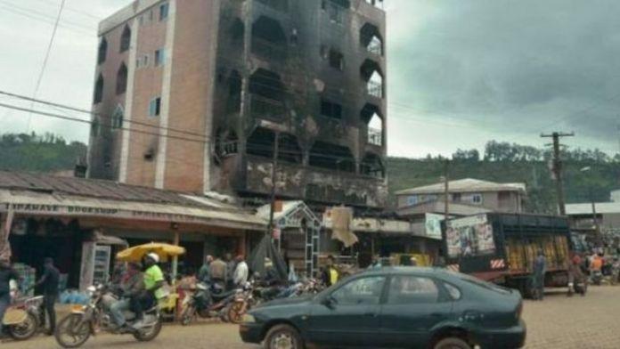 Les combats ont causé des ravages dans les régions anglophones du Cameroun, de 2017 à maintenant.