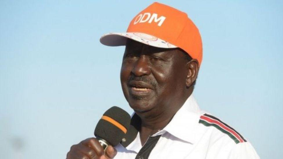 Raila Odinga, musharaxa isbahaysiga NASA