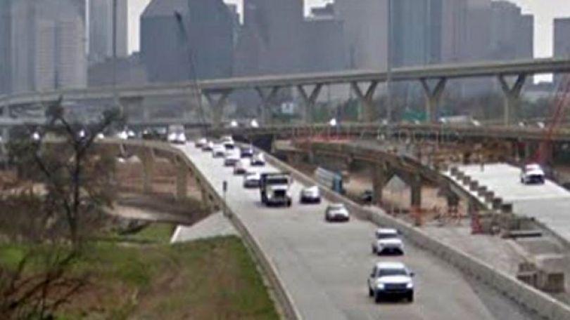 Auto-estrada 45, em Houston, no Texas