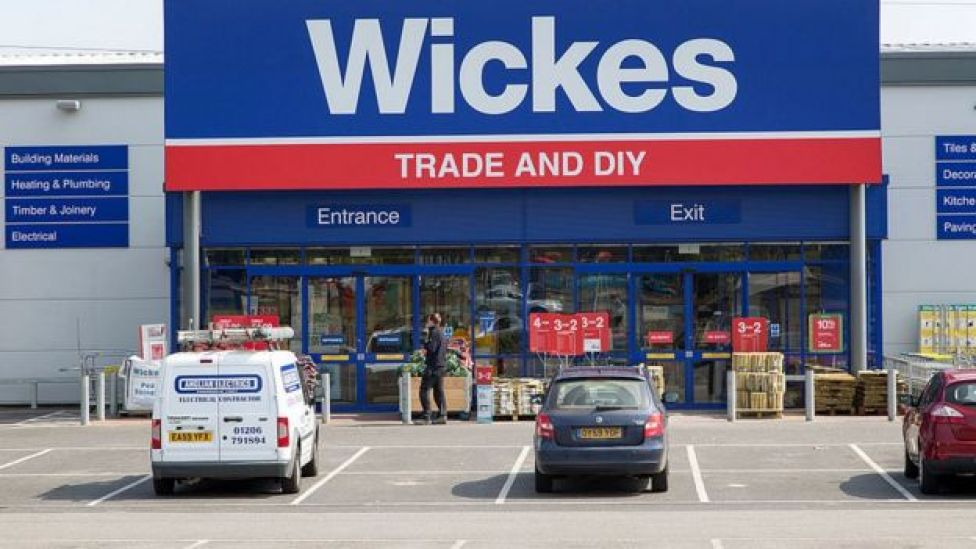 Wickes trade and DIY shop