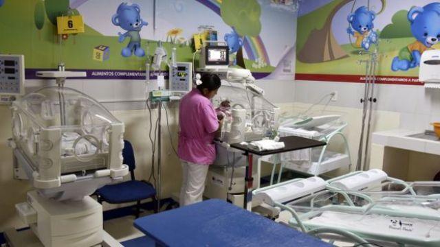 Hospital de niños en Bolivia