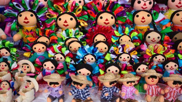 Mexican handmade dolls