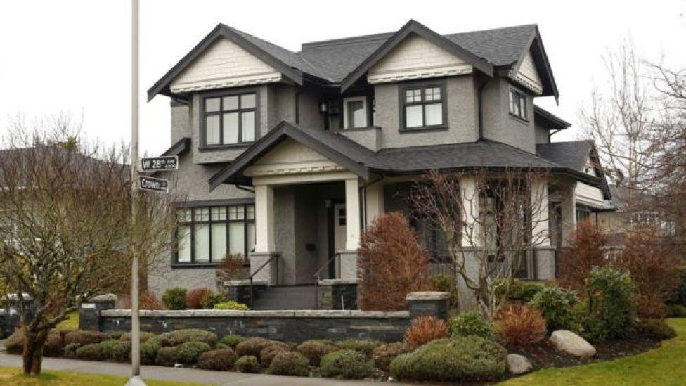 Casa en Vancouver de la familia de Meng Wanzhou, directora financiera de Huawei