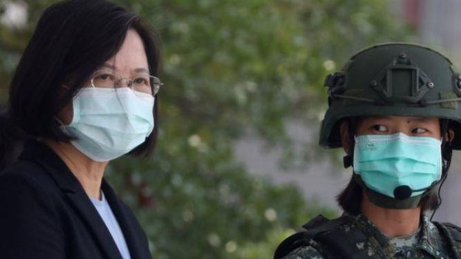 Tổng thống Đài Loan Thái Anh Văn, ảnh chụp ngày 9/4