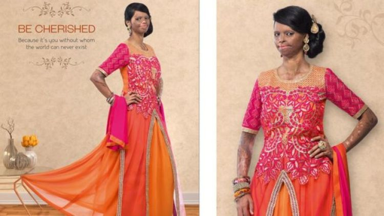 Laxmi Saa models a pink traditional Indian outfit for Viva N Diva