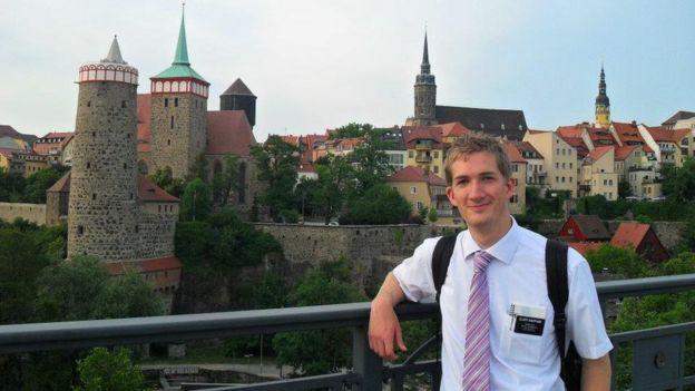 David Sheppard na Alemanha em 2011