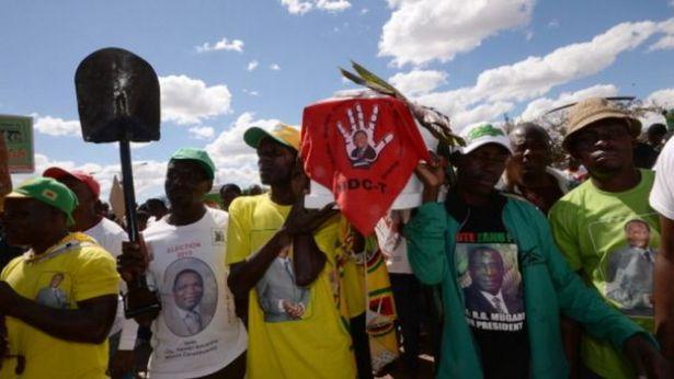 Taageereyaasha xisbiga Zanu-PF ee Robert Mugabe